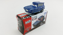 Tomy Tomica Pixar Car C-33 Tomber Blue Reliant (No Tank) Diecast Metal Toy Car 1:64 Brand New Box In Stock & Free Shipping