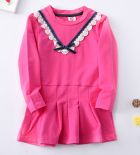 2017 New Kids Dresses For Girls 10 Years Childrens Fancy Dress Long Sleeve Spring Autumn Children TUTU Dresses A style Dresses