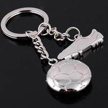 New World Cup Football Soccer Shoes Metal Keychains For Car Purse Bag Buckle Pendant Keyrings Key Chains Women Men Fans Gift