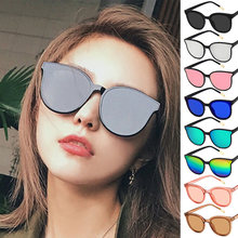 Fashion Ladies Square Sunglasses 2019 Summer Women Black Frames Silver White Pink Lens Brand Designer Eyewear Glasses UV400(China)