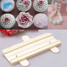 LINSBAYWU Pearl Beads Shape Fondant Cutter Mold Decorating Cake Paste Sugarcraft Mould Tools(China)