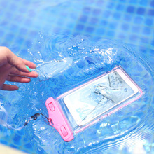 Waterproof Swim Impermeable Belt Mobile Cell Phone Sealed Bag Case for iphone 8 5s 6 6plus 7 Huawei mate 9/pro/honor 8/p9 P10