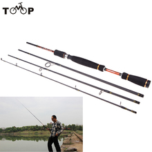 2.1M 6.89FT Portable Sea Fishing Pole Carbon Fiber Spinning Fishing Rod Lure Tackle Tool