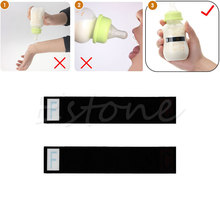 6 Pcs Safety Baby Milk Bottle Temperature Test Paper StripThermometer Sticker(China)