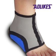 Aolikes Ankle Brace Support Guard Protect Gear Foot Gym Sport Breathable Sprains Protection Movement Ankle