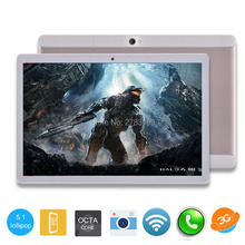ZFINER 2017 New 10 inch Octa Core unlock 3G WCDMA Tablet 4GB RAM 32GB/64GB ROM Dual Cameras Android 5.1 GPS Tablet 10.1 inch