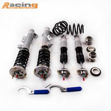 24 Levels Adj. Coilover Suspension for BMW 3 Series E36 M3 318 320 323 325 328 Coupe Limo Saloon Estate Touring Coilovers Damper(China)