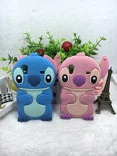 Cheapest  3D Lovely Kawaii Cartoon Stitch Soft Silicone Back Cover Phone Case For Samsung Galaxy Ace S5830 GT 5830 S5830i