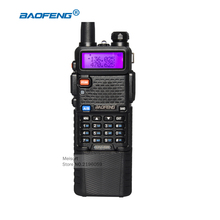 Baofeng UV-5R 3800mAh Battery Walkie Talkie Dual Band UHF VHF Frequency Portable Handheld Two Way Radio Station Handy Ham Radios(China)
