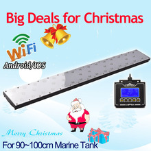 DSunY full spectrum programmable led aquarium lighting for marine fish tank,wifi remote Pecera acuario marino luz Verlichting(China)
