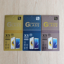 20pcs/lot Mobile Phone Premium Tempered Glass Film Guard Retail Packaging Box for iphone4 5 6S 7 plus Galaxy S5 S4 Paper Package(China)