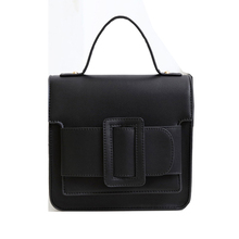 Brand Women's tote bag handbags shoulder bag  female Bobby Bag fashion belt side buckle candy color square purse crossbody bags