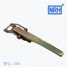 NRH5701 Car buckle Auto lock Hardware lock Tricycle buckle Lock Iron material plating color(China)