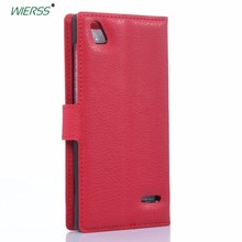 Luxury Flip Leather Case cover For ZTE Blade Vec 3G 4G /Orange Rono 4G/Turkcell T50 Back Cover Housing Wallet case shell+Card