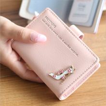 Tew Fashion Vertical Women PU Leather Business Cards 20 Screens Card Bag Student Card Holder The Causal Credit Card holder(China)