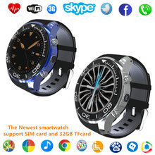 1.3 inch Round smart watch clock Reloj MTK6572 S11 Smart Watch Android 5.1 with 3G 2.0mp camera Google Now for Android Ios pk H1
