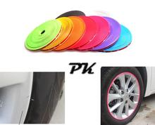 8meter/roll x Universal Car Wheel Protection Self Adhesive Protective Trim Strips Foralloy Wheel Rims
