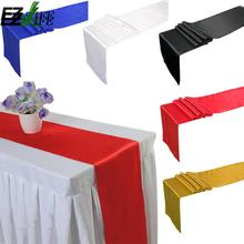 Hot Sale Satin Table Cloth Pure Color Good Quality Table Cloth Tablecloth Tafelkleed Table Cover Decorations For Home ZH01591(China)