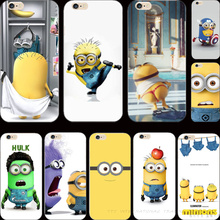 For iPhone5 SE 22 Styles Cover Despicable Me Yellow Minion Case For Apple iPhone 5 iPhone 5S iPhone5S Phone Cases Shell Newest