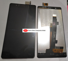LCD Display + Touch Digitizer Screen glass    For   BQ E5 D858  Free Shipping