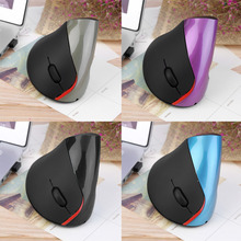 1pcs Wireless Ergonomic Vertical Optical USB Mouse 5D Optical Mouse For PC Laptop hot new