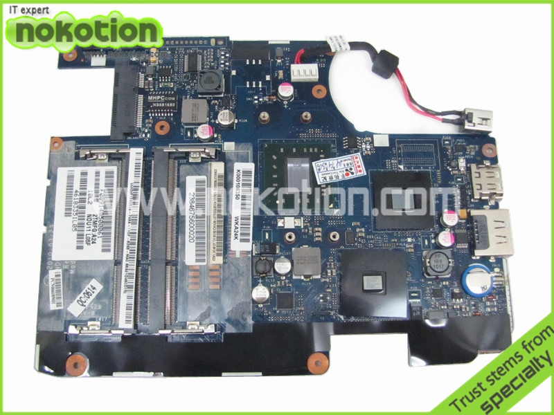 laptop motherboard for toshiba satellite T235D K000106350 LA-6032P AMD K325 DDR3<br><br>Aliexpress