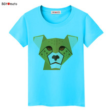 BGtomato Digital leopard beautiful T-shirts Original Brand New clothes 3D cartoon casual shirts women tops tees cheap sale