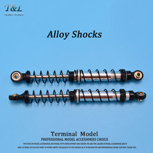 High Elasticity 110mm Alloy Shocks For 1/10 D90 Defender RC Crawler  Black