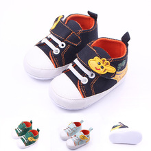 boy Soft Sole Shoes, kids bed Shoes,Fashion toddler/Infant/Newborn shoes, First Walkers(China)