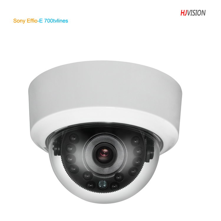 Sony Effio-E 700tvlines Dome IR camera ,3.6mm lens  CCTV Camera free Shipping<br>