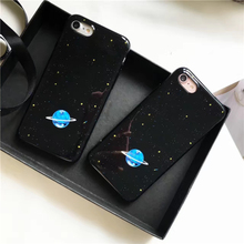 Buy Shiny blue planet stars Glitter phone Cases iphone 7 7Plus Soft mirror Case iphone X 6 6s 6Plus 8 8plus back cover for $3.23 in AliExpress store