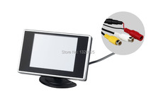 3.5inch TFT LCD Car Monitor For Car Rearview Monitor DVD VCR with PAL/NTSC systems PAL/NTSC