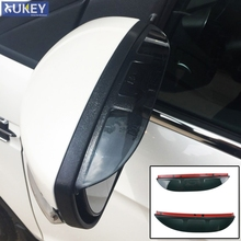 Fit For 2013 2014 2015 2016 Ford Escape Kuga Ecosport Door Side Wing Rear View Mirror Rain Snow Guard Visor Shade Shield Cover(China)