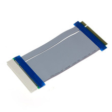 Reliable  32 Bit Flexible PCI Riser Card Extender Flex Extension Ribbon Cable PCI male to female riser card extender