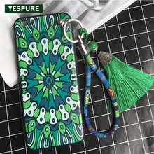 YESPURE Wholesale Antigravity TPU Retro Cell Phone Case for Iphone 6/ 6s Tassle Mobile Phone Back Cover Accessories with Strap(China)