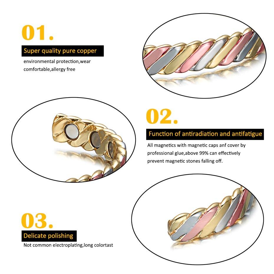 colorful copper bangle for women  (2)