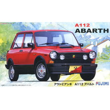 12617# RS-10 1/24 Scale Model Car Kit A112 Abarth 1/24 Scale KIT plastic model kit