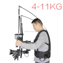 Like EASYRIG 4-11kg video film Serene dslr DJI Ronin M 3 AXIS gimbal stabilizer Gyroscope steadicam vest Atlas Camera Support(China)