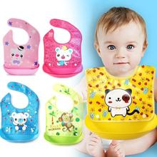 Waterproof baby Bibs Bandana Infant toddler Pocket Lunch Bibs Cartoon printed Kids Infant Babadores Saliva Towel Baby aprons D3