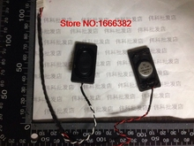 2pcs/lot 2pair Notebook speakers 2.5W4R Europe 2040 20 * 40MM 4 Europe 4R2.5W with two pairs of lines