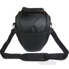 Fashion Waterproof Triangle Camera Bag For Sony For Canon For Nikon D5200 D5100 D5000 D3100(China)