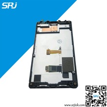 Original 4.3''For Nokia X2 Dual SIM RM-1013 X2DS LCD Display Touch Screen Digitizer Glass Sensor Assembly+Frame Repairment Parts