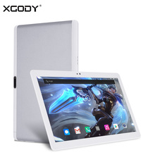 Origional XGODY Y107 4G LTE 10 Inch Tablet PC Android 7.0 MTK MT6753 Octa Core 2G RAM 32G ROM 1920*1200 IPS Tablets OTG Dual Sim