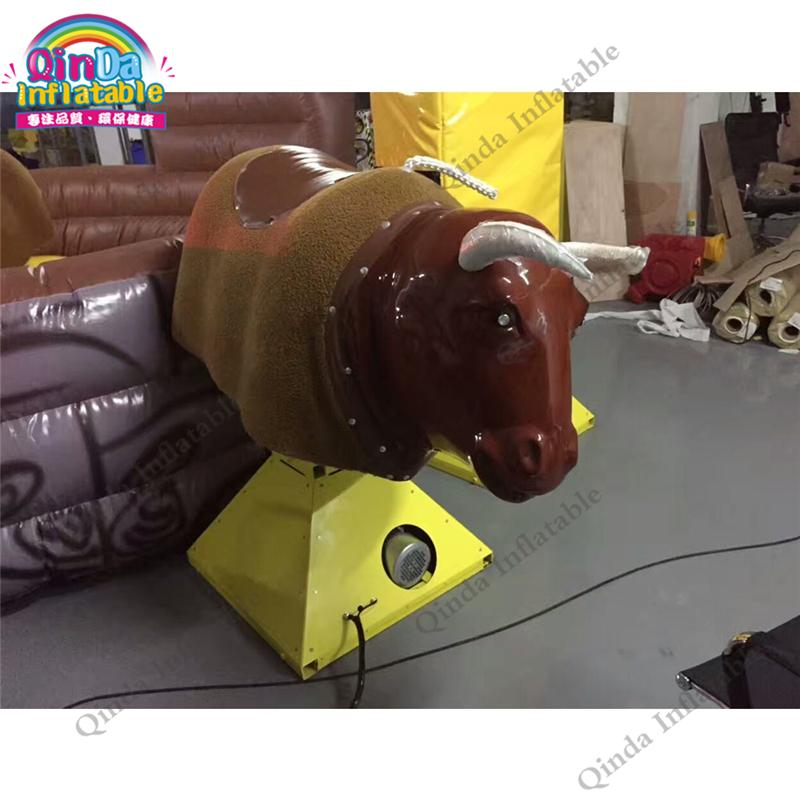 inflatable mechnical bull mat65