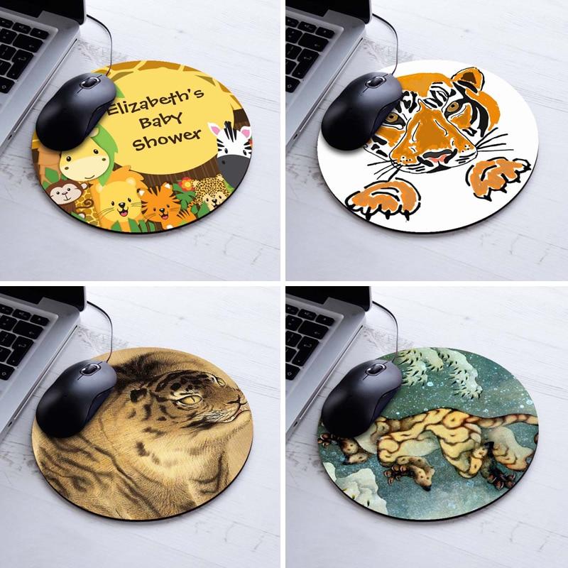 Printing Baby Animals Tiger Paws Gaming Mousepad A...