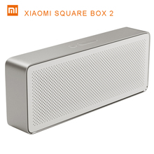 Original Xiaomi Square Box Speaker 2 Pencil Box Xiaomi Bluetooth 4.2 Speaker Stereo Portable High Definition Sound Quality