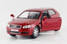 New AUDI A3 1:32 Alloy Diecast Car Model Toy Collection Free Shipping