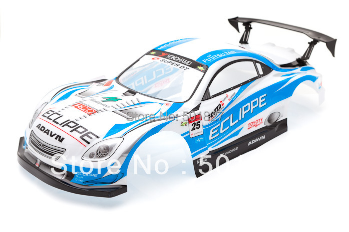 rc parts shell body PVC painted 1/10 rc car  Blue body shell 190mm free shipping<br><br>Aliexpress
