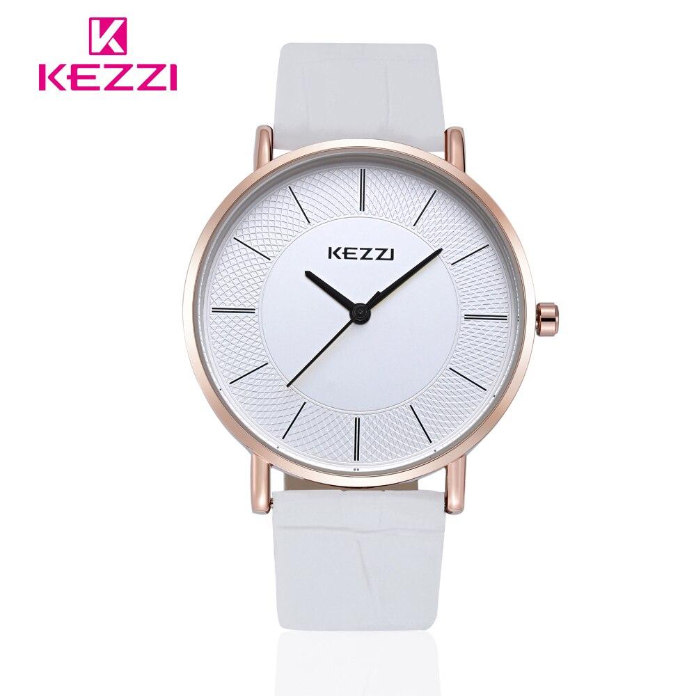 KEZZI New Fashion Watch Women Elegant Leather Strap Simple Style Casual Quartz Wristwatch Ladies Popular Clock Relogio Feminino<br><br>Aliexpress