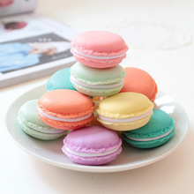 Super Deal 1Pcs Mini Earphone SD Card Macarons Bag Storage Box Case Carrying Pouch